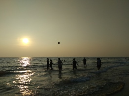 Varkala, Kerala 2017
